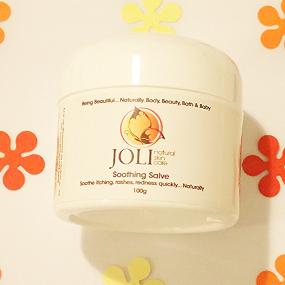 joli, soothing eczema salve