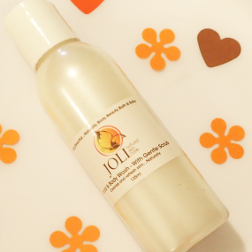 joli, face and body wash