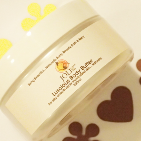 joli, luscious body butter