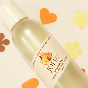 joli, natural massage oil
