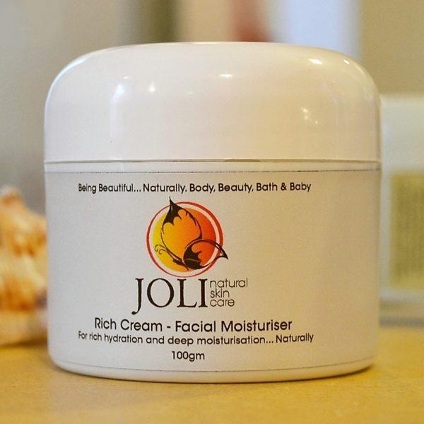 rich cream moisturiser