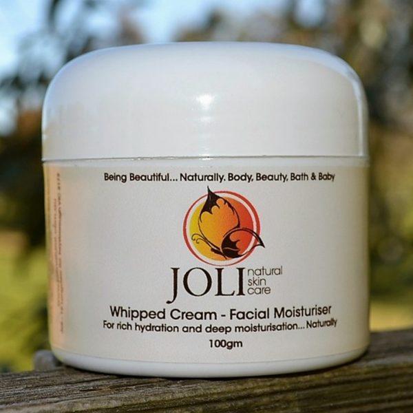 whipped cream moisturiser