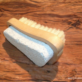 joli, pumice scrub brush
