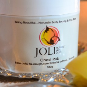 joli, natural chest rub
